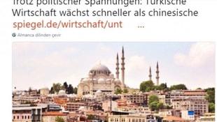 Alman medyasından itiraf gibi Türkiye haberi
