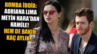 Bomba iddia: Adriana Lima Metin Haradan hamile!  Hem de bakın kaç aylık...