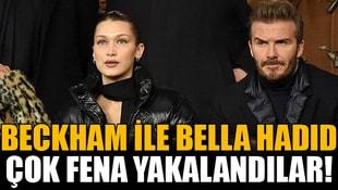 Beckham fena yakalandı!