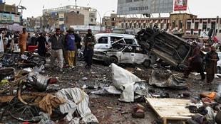 Afganistan sivilleri vurdu: 100 ölü