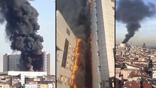 Taksim Eğitim ve Araştırma cayır cayır yanıyor
