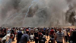 Gazzedeki gösterilerde 52 Filistinli şehit oldu