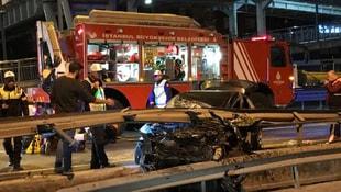 Avcılarda trafik kazası: 1 yaralı