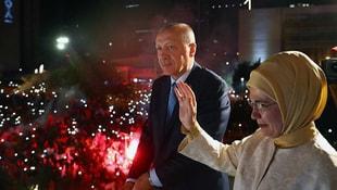Erdoğan balkon konuşması yaptı