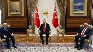 Erdoğan MHP lideri Bahçeli ile görüştü