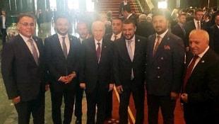 Külliyede, Bahçeli ile AK Partililerin ittifak fotoğrafı