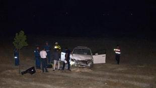 Ereğlide aynı yerde iki kaza: 1 ölü, 4 yaralı