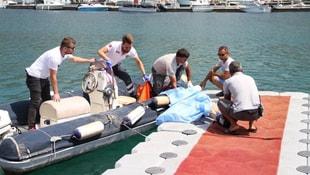 Kayıp İranlının denizde cesedi bulundu
