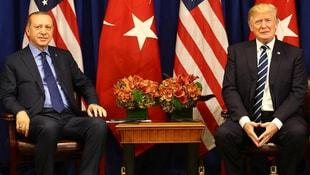Erdoğan ile Trump Suriyeyi görüştü