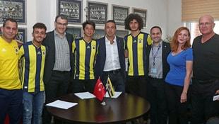 Fenerbahçe, üç transferi resmen açıkladı