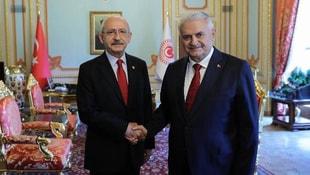 Kılıçdaroğlu, TBMM Başkanı Yıldırım ile görüştü
