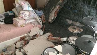 Beşiktaşta oturan oyuncunun evi beton altında kaldı