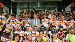 Erciyes Bisiklet Festivalinin startı verildi