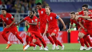 İngiltere penaltılarla çeyrek finalde