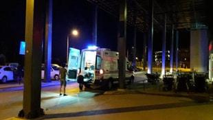 İzmirde kamyonet şarampole devrildi: 7 yaralı