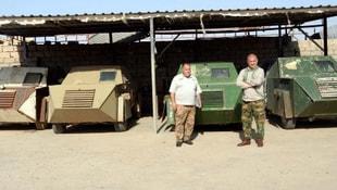 DEAŞın bombalı araçları Telaferde sergileniyor
