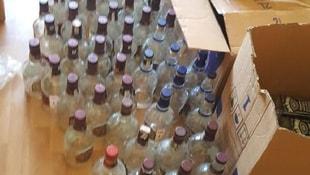 İstanbulda sahte içki operasyonu: 3 gözaltı
