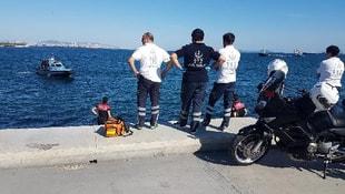 Serinlemek için denize giren bir kişi hayatını kaybetti
