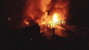 Bursada tüpçü dükkanında patlama
