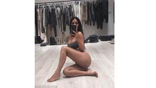 Kardashiandan üstsüz paylaşım