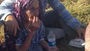 Kayıp alzheimer hastası yaşlı kadını jandarma buldu
