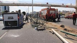Diyarbakır-Şanlıurfa yolunda kaza!