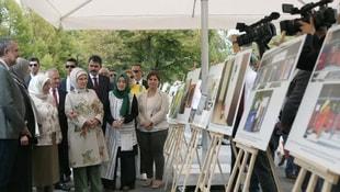 Emine Erdoğan, Meclisteki sıfır atık tesisini ziyaret etti