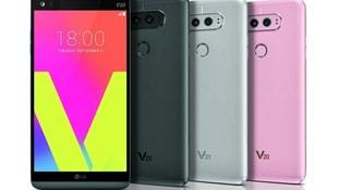 LGnin yeni telefon modeli V20 tanıtıldı