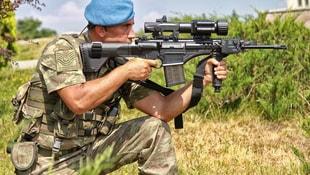Milli piyade tüfeği MPT-76nın TSKya teslimatı sürüyor