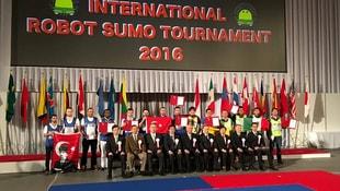 Sumo robot yarışında Türkiye yine birinci
