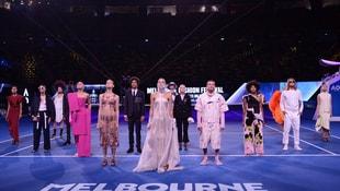 Avustralya Açık'ta moda rüzgarı esti