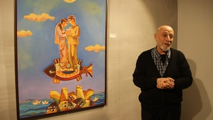 Azerbaycanlı ressamdan Hayatımdan Kareler Sergisi