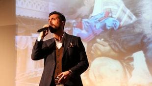 Halepliler için 3 dilde beste yaptı