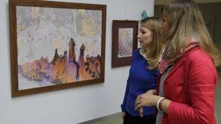 İlham resim sergisi açıldı