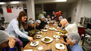 Yetim çocuklar, Antep'in yöresel yemeklerine lezzet kattı