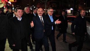 Bakan Müezzinoğlu'ndan esnaf ziyaretleri
