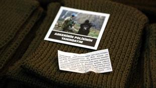 Bolulu kadınlardan polis ve askere destek