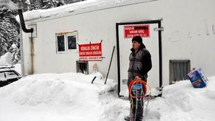 Karlı hava kazanç kapısı oldu