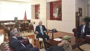 Kılıçdaroğlu, İsrail Büyükelçisi Naeh'le görüştü