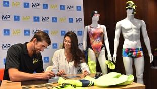 Phelps, kendi markası MPnin yeni koleksiyonunu tanıttı