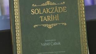 Solakzade Tarihi yeniden yayımlandı