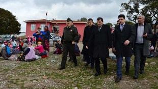 Çanakkale Ayvacıkta okullar yarın tatil edildi