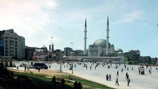Taksim Camiine ilk kazma yarın vurulacak!