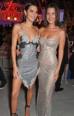 Kendall Jenner ve Bella Hadid bikinileri çıkardı