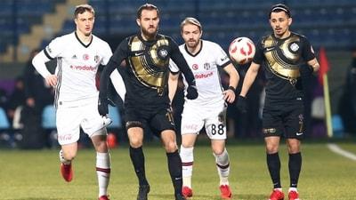 Beşiktaş mağlubiyetle turladı!
