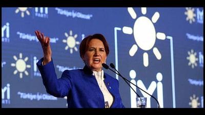 İyi Parti Genel Başkanı Meral Akşener Cumhurbaşkanı adaylığını açıkladı