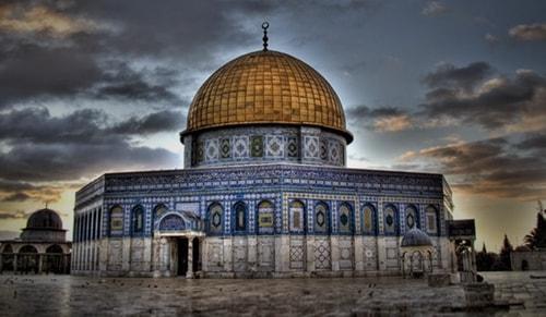 Yahudiler Mescid-i Aksayı bastı! Ardından ayin düzenlediler