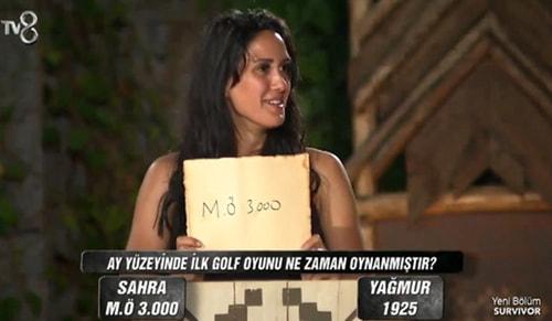 Survivor Sahra rezil oldu!