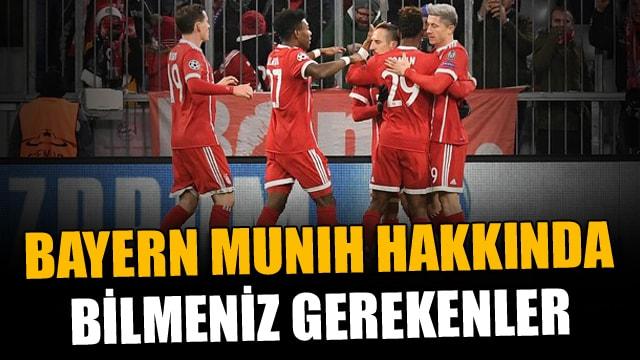 İşte Beşiktaşın rakibi Bayern Münih hakkında bilmeniz gerekenler