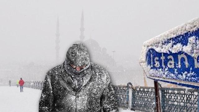 İstanbul'a kar geliyor ile ilgili görsel sonucu